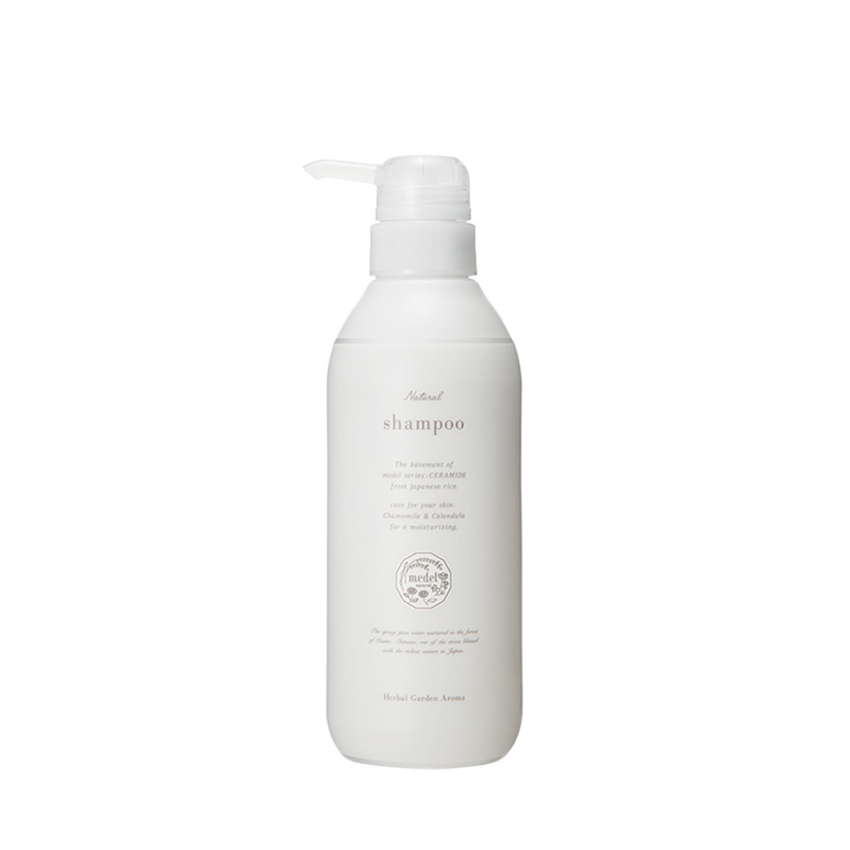 Dầu Gội Medel Natural Shampoo Herbal Garden Aroma 400ml