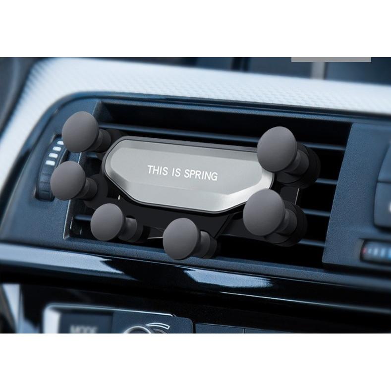 Giá đỡ điện thoại kẹp cửa gió trên ô tô