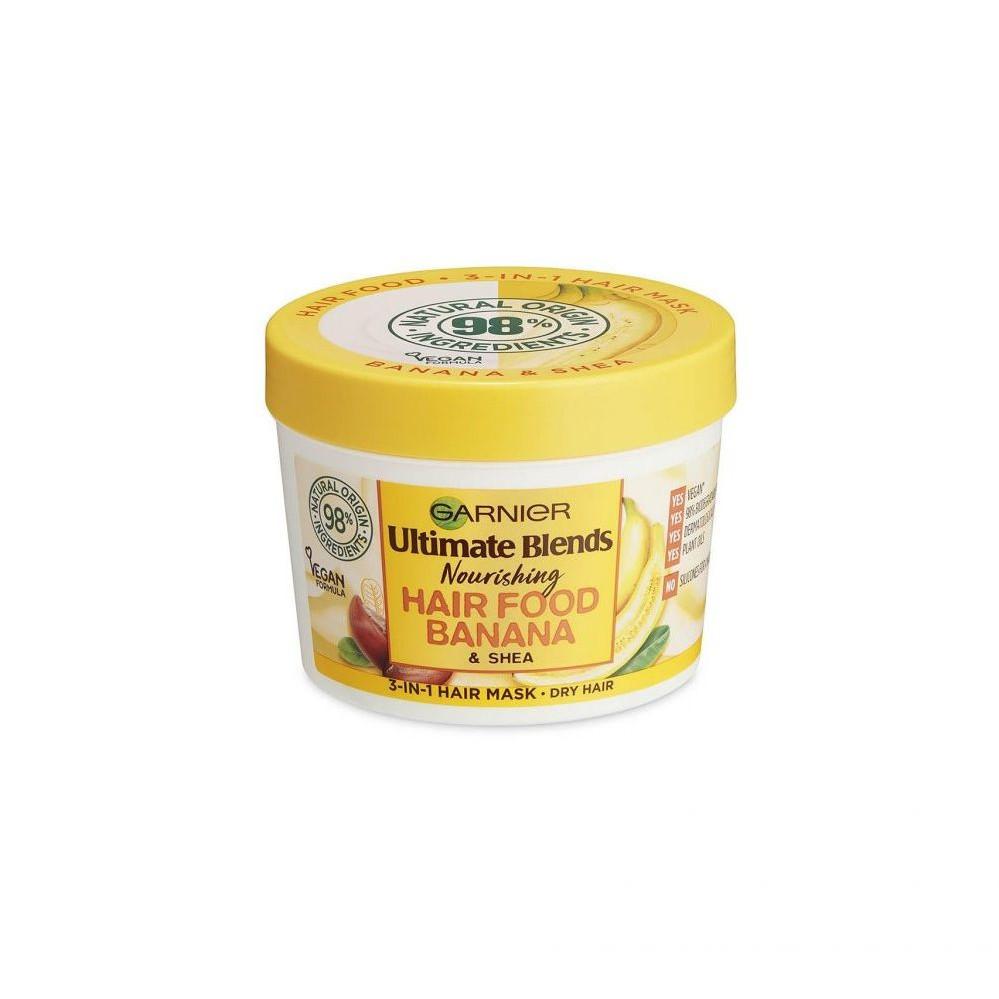 Mặt nạ tóc Garnier Ultimate Blends Hair Banana Food - 390ml