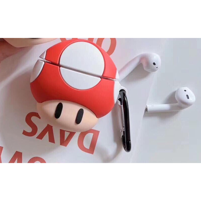 Case Silicon dành cho Airpods Mario