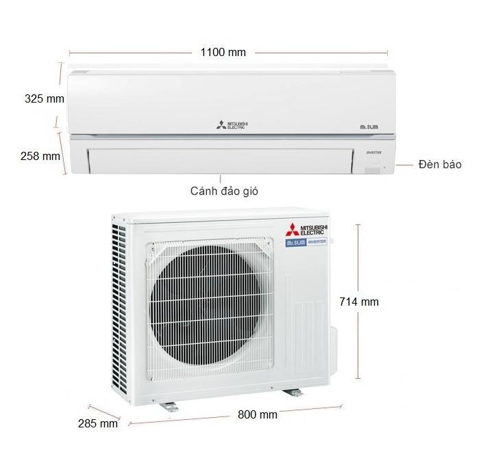 Máy Lạnh Mitsubishi Electric Inverter 3.0HP MSY-GR71VF - Hàng chính hãng (chỉ giao HCM)