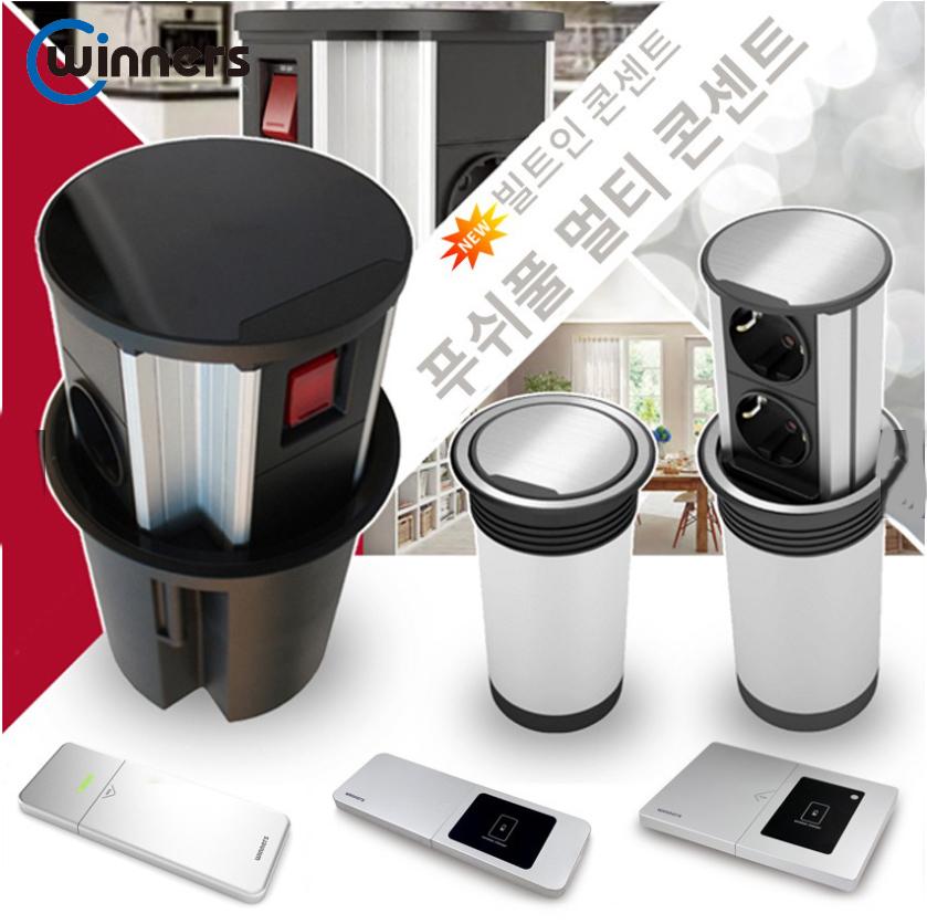 Ổ cắm điện âm bàn tích hợp cổng sạc USB Winners DMM2 - 00623 sản xuất tại Hàn Quốc