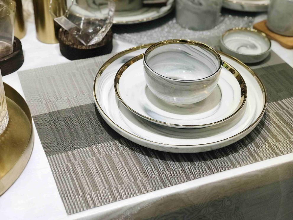 Tấm lót bàn ăn placemat Teslin