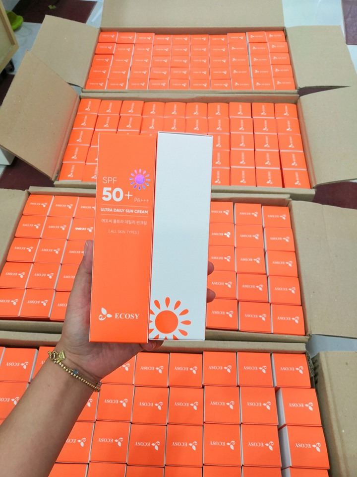 Kem chống nắng hàng ngày - Ecosy Utra Daily Sun Cream SPF 50+/ PA+++