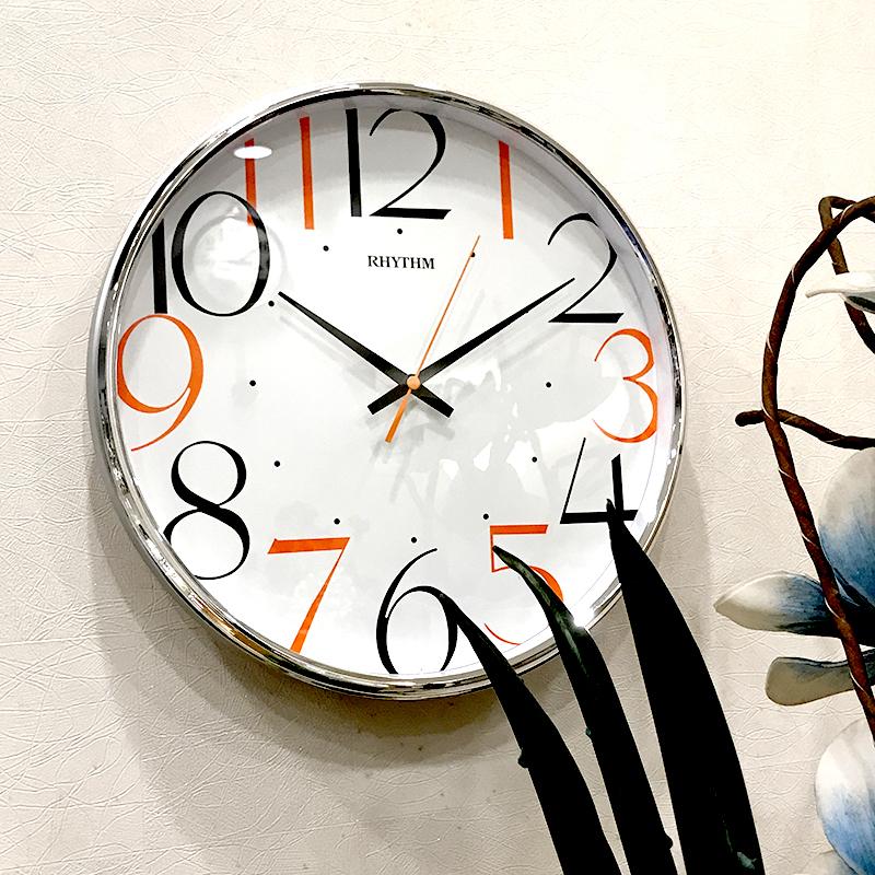 Đồng hồ treo tường Nhật Bản Rhythm CMG486NR66 - Kt 32.0 x 4.8cm