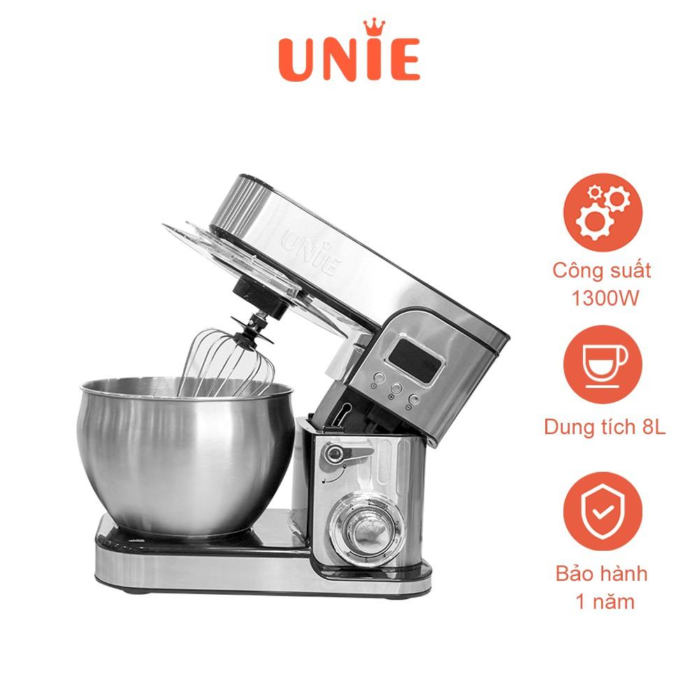 Máy nhồi bột chuyên dụng đa năng UNIE EM5 1300W - Hàng chính hãng