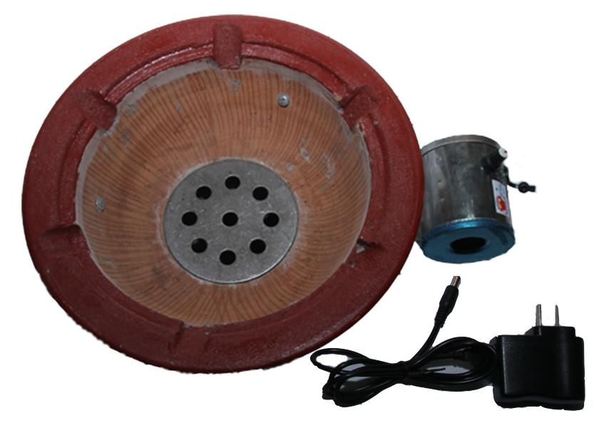 Bếp than điện size 28 có quạt gió