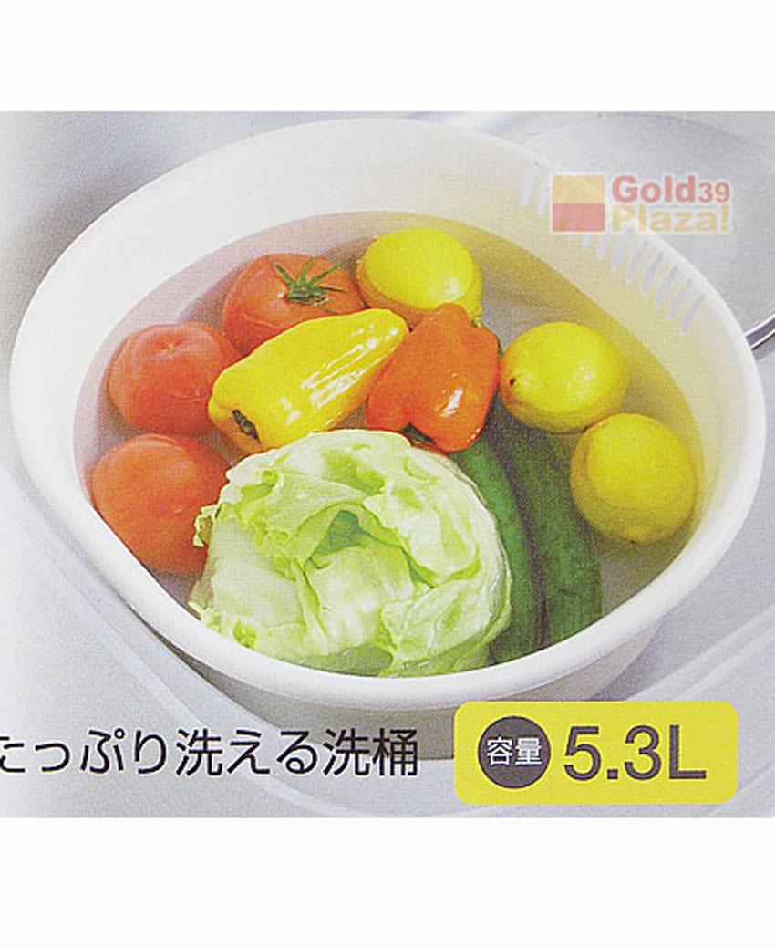 Chậu nhựa 5.3L màu trắng nội địa Nhật Bản