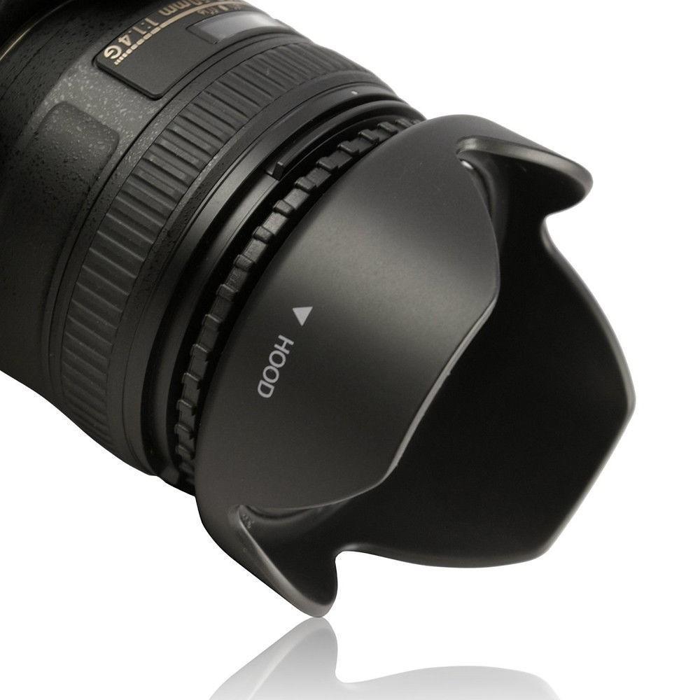 Lens hood Loa che nắng hoa sen vặn ren ống kính máy ảnh Phi 67mm