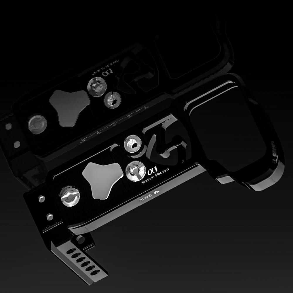 giá đỡ máy ảnh Stabil A1 - L Plate (Bracket) For Sony A1 hàng chính hãng