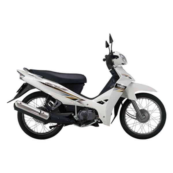 Xe Máy Yamaha Sirius Phanh Cơ - Trắng