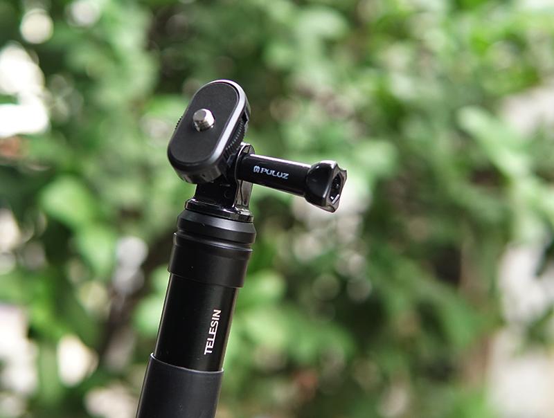 """Đầu chuyển GoPro sang 1/4"""" Sony Action Cam máy ảnh Puluz"""