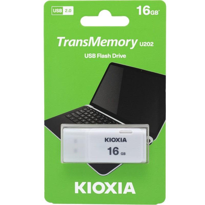 USB Kioxia 16gb U202 (Trắng) - Hàng Nhập Khẩu