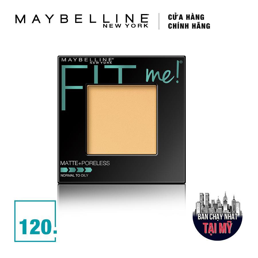 Phấn Mịn Lì Tự Nhiên Maybelline Fit Me Matte + Poreless Màu 120 Classic Clivory 9g