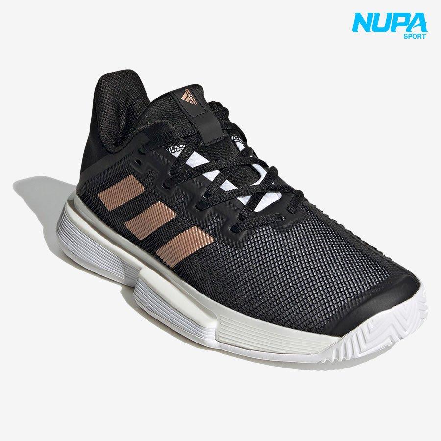 Giày Tennis SoleMatch Bounce - Core Black/ Copper Metallic/ Cloud White