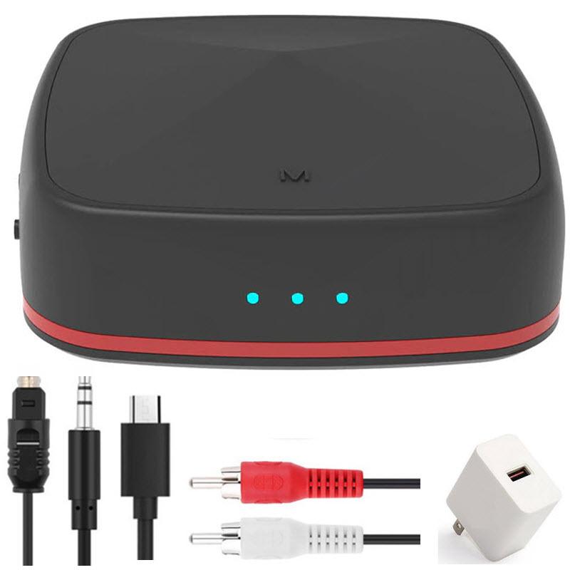 Bộ Thu Phát Bluetooth 5.0 Chipset Csr8675 APTX HD/LL Bộ Chuyển Đổi Âm Thanh Không Dây Ra Cổng Quang Toslink RCA/Giắc Cắm AUX 3.5 Mm/SPDIF Cho TV PC Xe Hơi JRBC-05