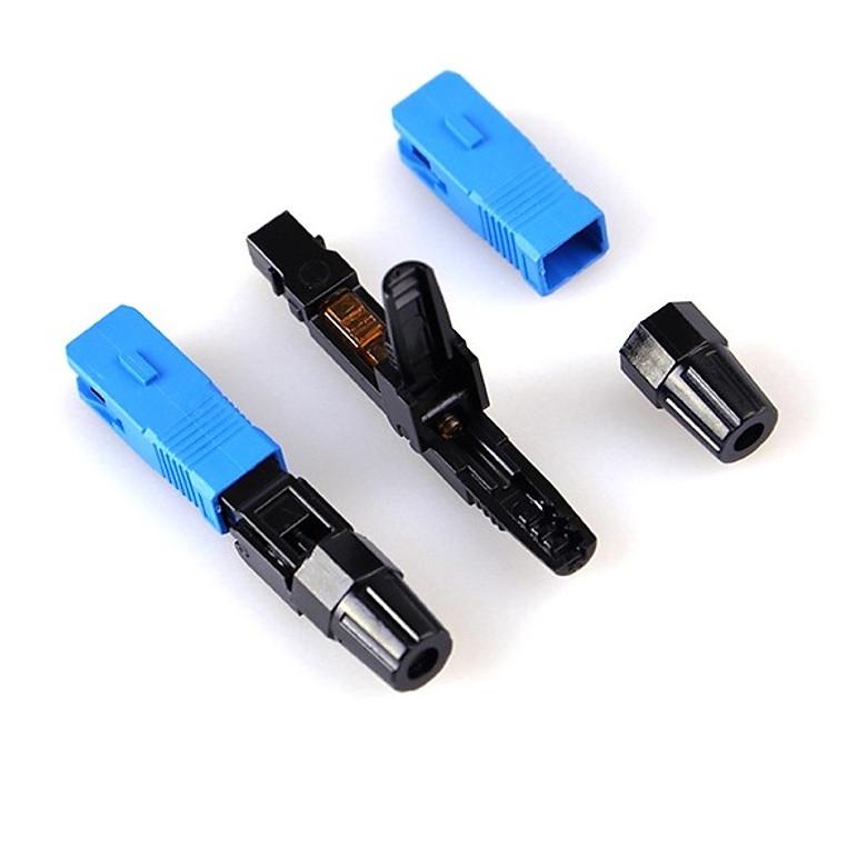 Đầu nối quang nhanh Fast connector SC-SC/UPC (Vỉ 10 chiếc)