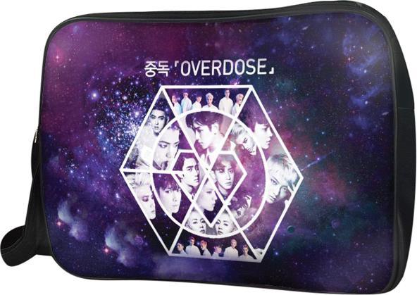 Túi Đeo Chéo Hộp Unisex Exo Overdose - TCKP160 34 x 9 x 25 cm