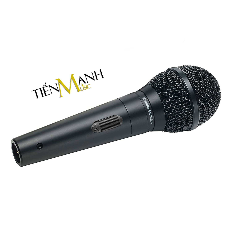 [Chính Hãng Japan] Mic Hát Karaoke Audio Technica ATR1300X - Có Dây 5m Thu Âm Vocal Micro Dynamic Biểu Diễn chuyên nghiệp Microphone - Kèm Móng Gẩy DreamMaker