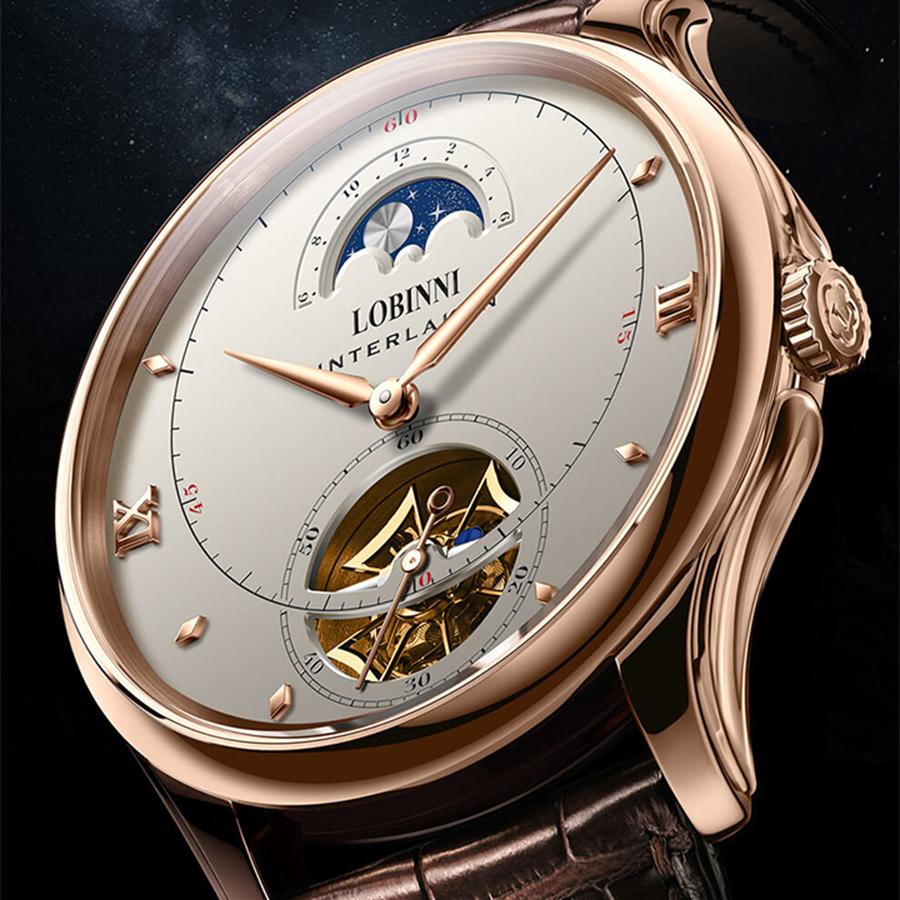 Đồng hồ nam chính hãng LOBINNI L13022-1
