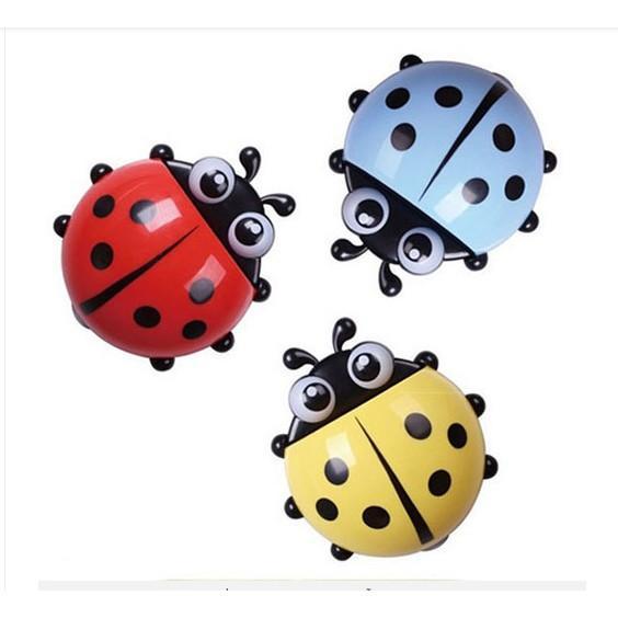 combo 2 Giá cắm bàn chải hình con bọ dễ thương