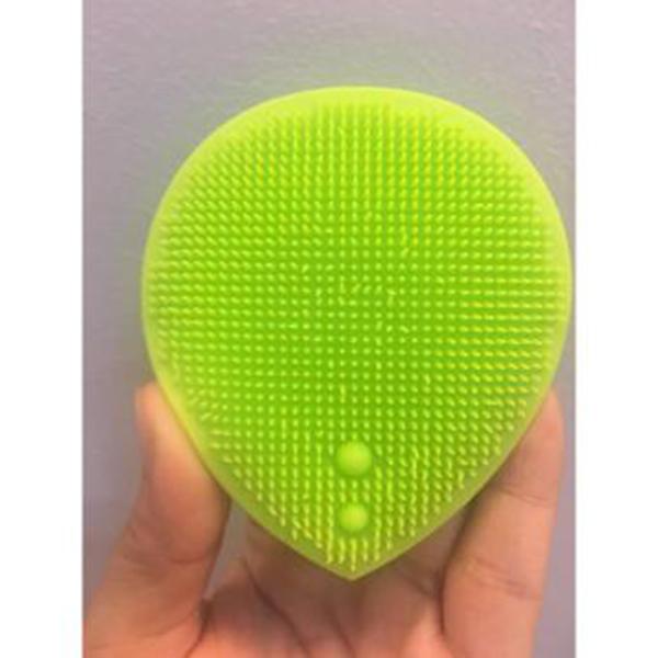 Dụng Cụ Rửa và Massage Mặt Silicon Mềm Dẻo Hàn Quốc Suri tặng kèm móc khoá (Màu ngẫu nhiên)- 1 cái