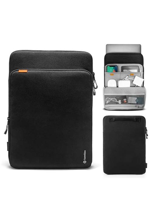 Túi xách chống sốc tomtoc (usa) 360° protection premium  macbook pro/air  new H13- Hàng Chính Hãng