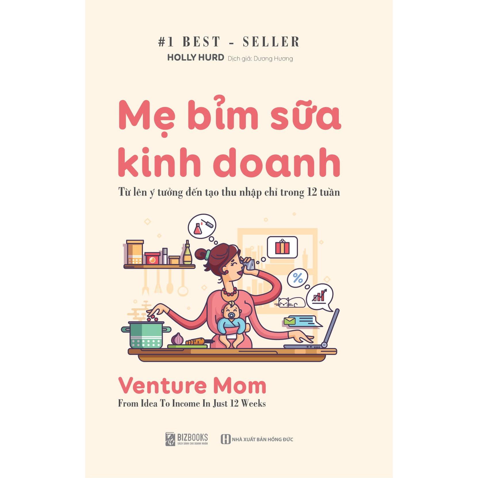 Sách - Mẹ Bỉm Sữa Kinh Doanh Online DL