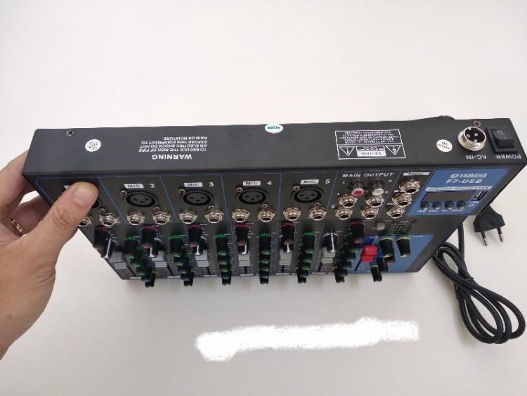 Mixer YAMAHA F7 USB phiên bản mới Bluetooth 3