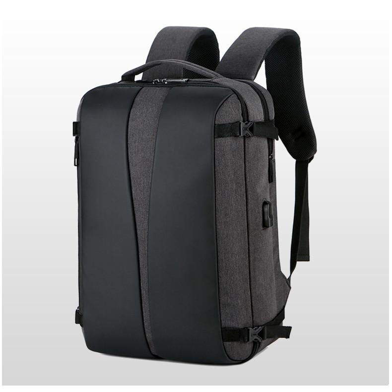 Ba lô đa năng đựng laptop, du lịch tích hợp sạc USB Ngolas A028