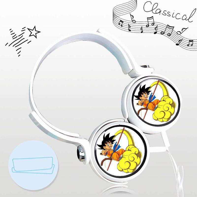 Tai nghe DRAGON BALL BẢY VIÊN NGỌC RỒNG thiết kế thông minh cá tính cắm dây có mic anime chibi