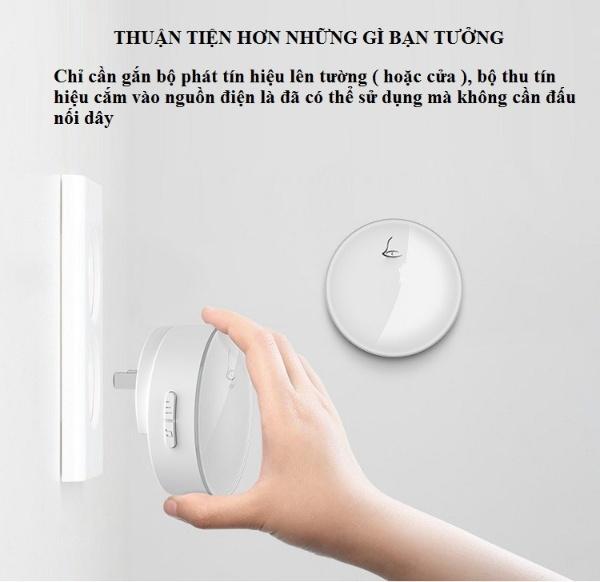 Chuông cửa không dây, không dùng pin cao cấp G3
