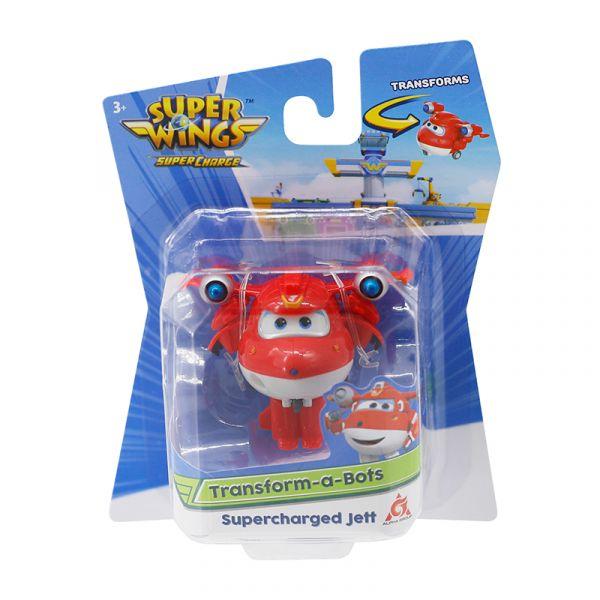 Đồ chơi mô hình SUPERWINGS Robot biến hình mini Jett siêu cấp YW740041