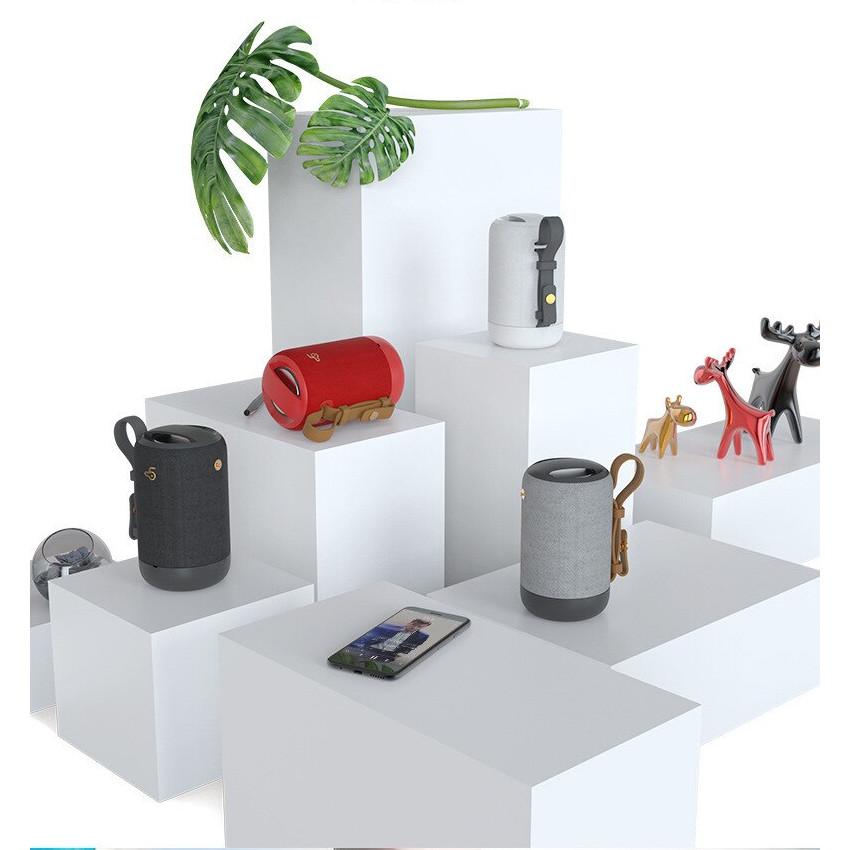 Loa Bluetooth BD03 Công Suất 5W Dung Lượng Pin 1500mAh, Chống Nước Chuẩn IPX5 Hỗ Trợ Thẻ Nhớ USB AUX - Hàng Chính Hãng