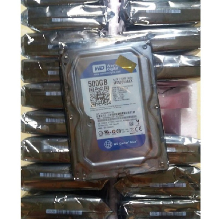 Ổ cứng HDD 500G Western - Hàng Chính Hãng