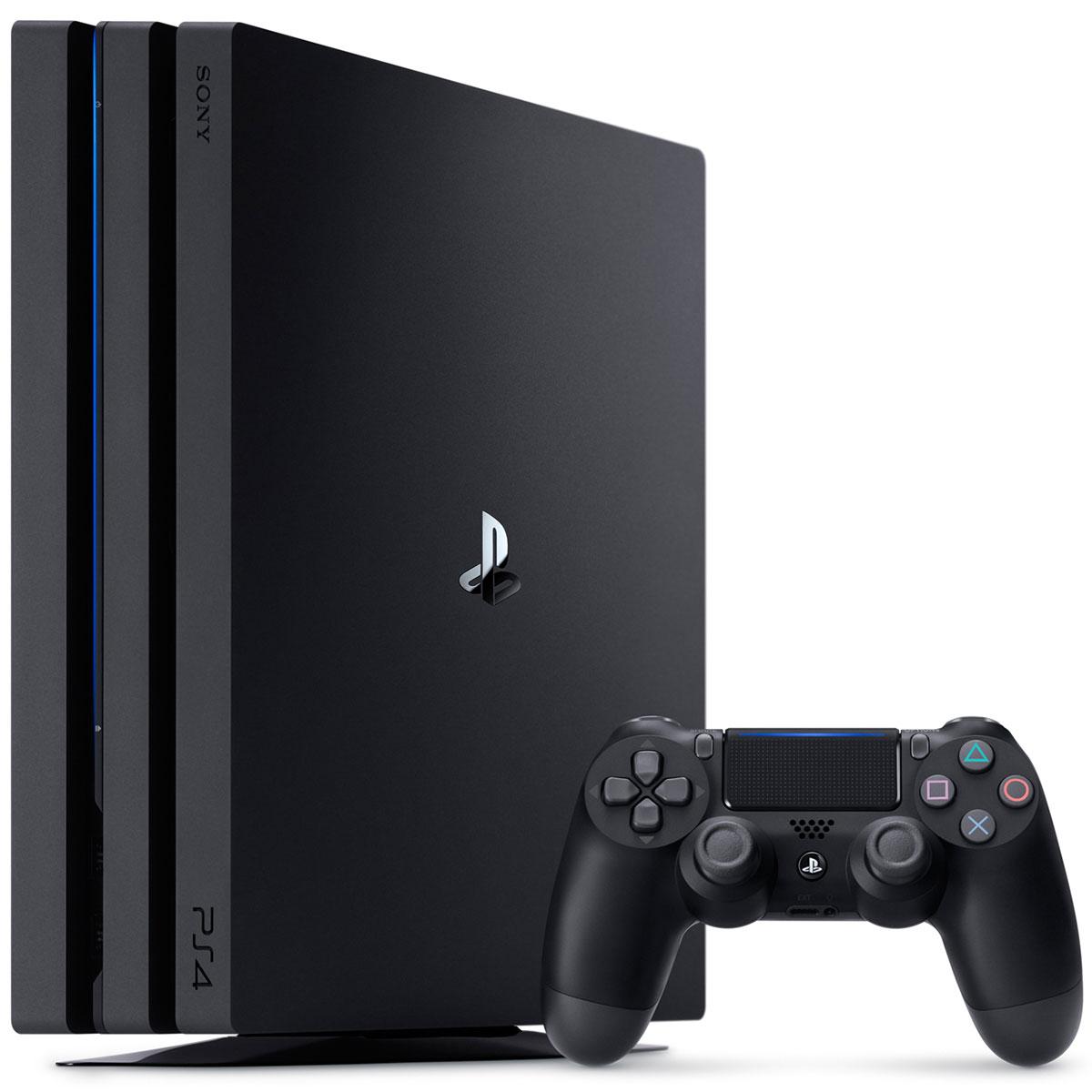 Bộ Máy Game PS4 Pro 1TB Kèm 2 Game Godofwar 4 , Sekiro : Shadows Die Twice - Hàng Chính Hãng