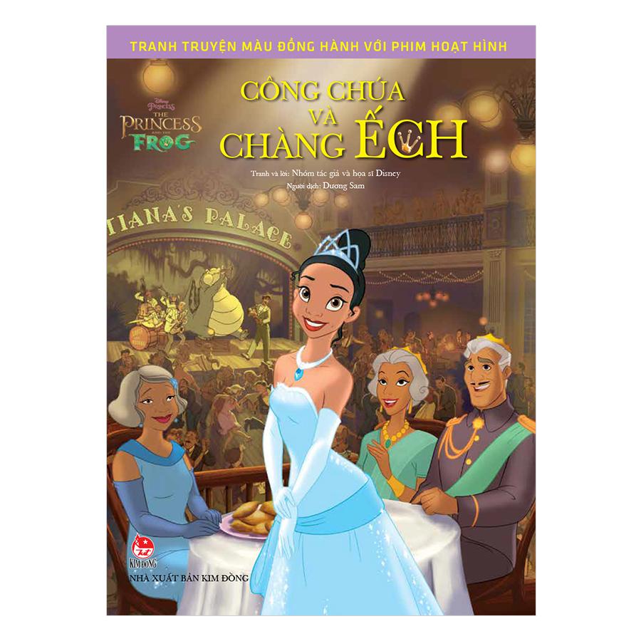 Tranh Truyện Màu Đồng Hành Cùng Phim Hoạt Hình: The Princess And The Frog - Công Chúa Và Chàng Ếch