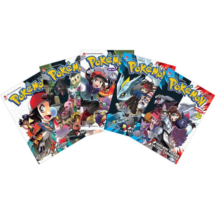 Combo 53 Tập Truyện Tranh Pokemon Đặc Biệt
