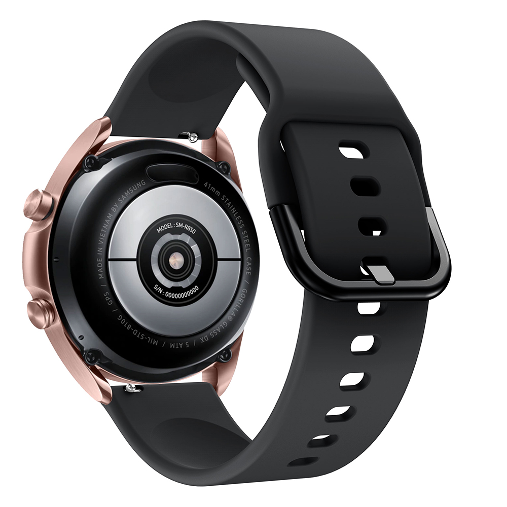 Dây Cao Su Cho Galaxy Watch 3 41mm / 45mm (Dây Size 20mm và 22mm)