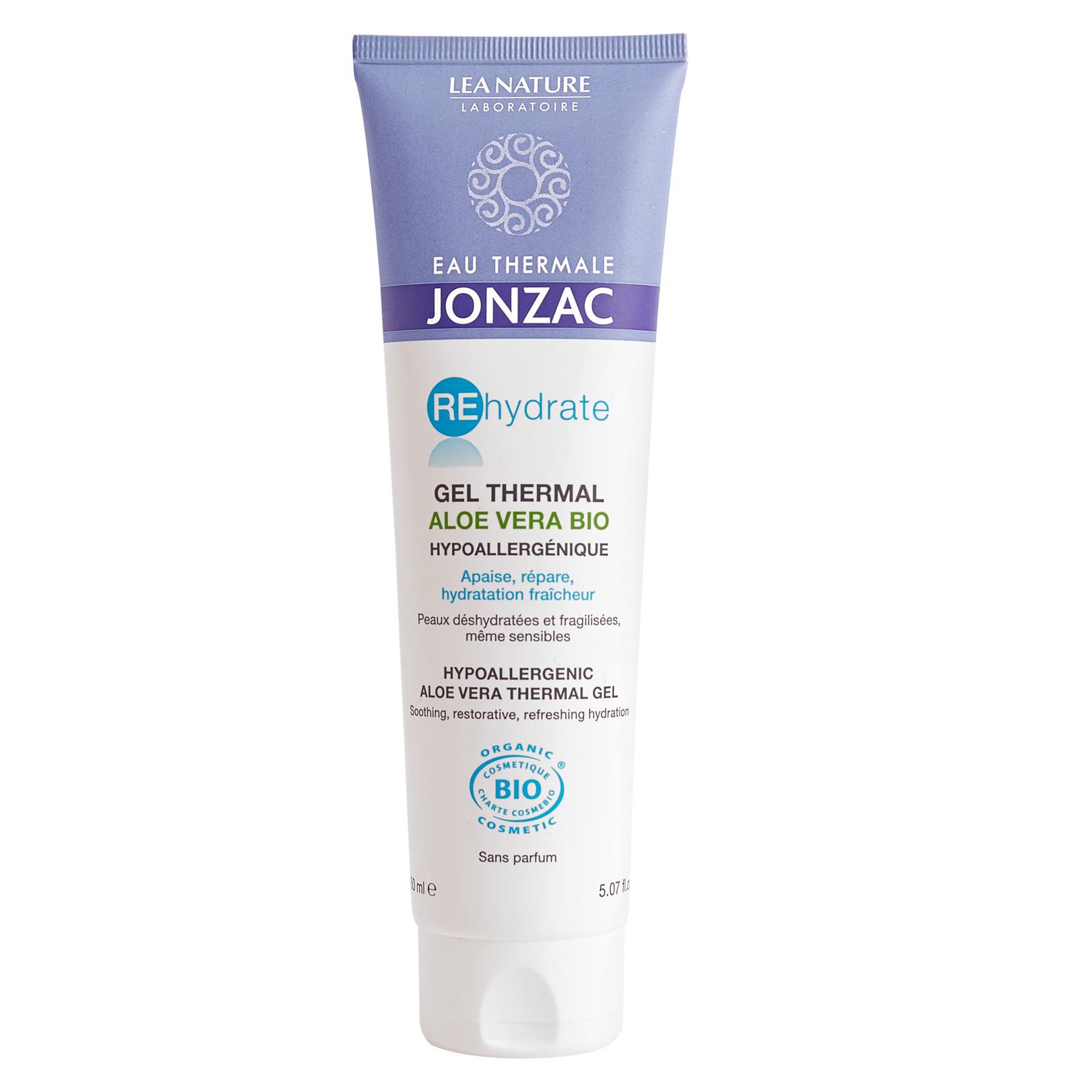 Gel lô hội cấp nước dưỡng ẩm, kháng viêm Eau Thermale Jonzac Hypoallergenic Aloe Vera Thermal Gel 150ml