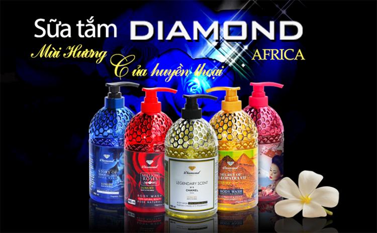 Sữa Tắm Nữ Behind The Beauty Of The Geisha Diamond Africa (580ml)