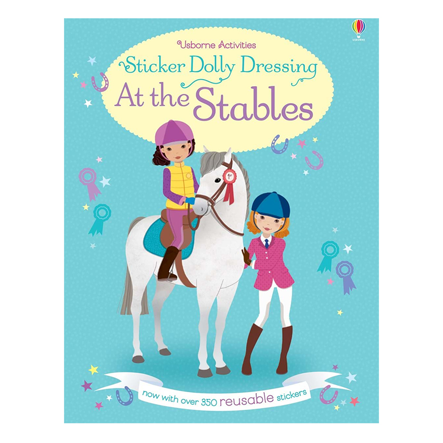 Usborne Sticker Dolly Dressing: At the Stables