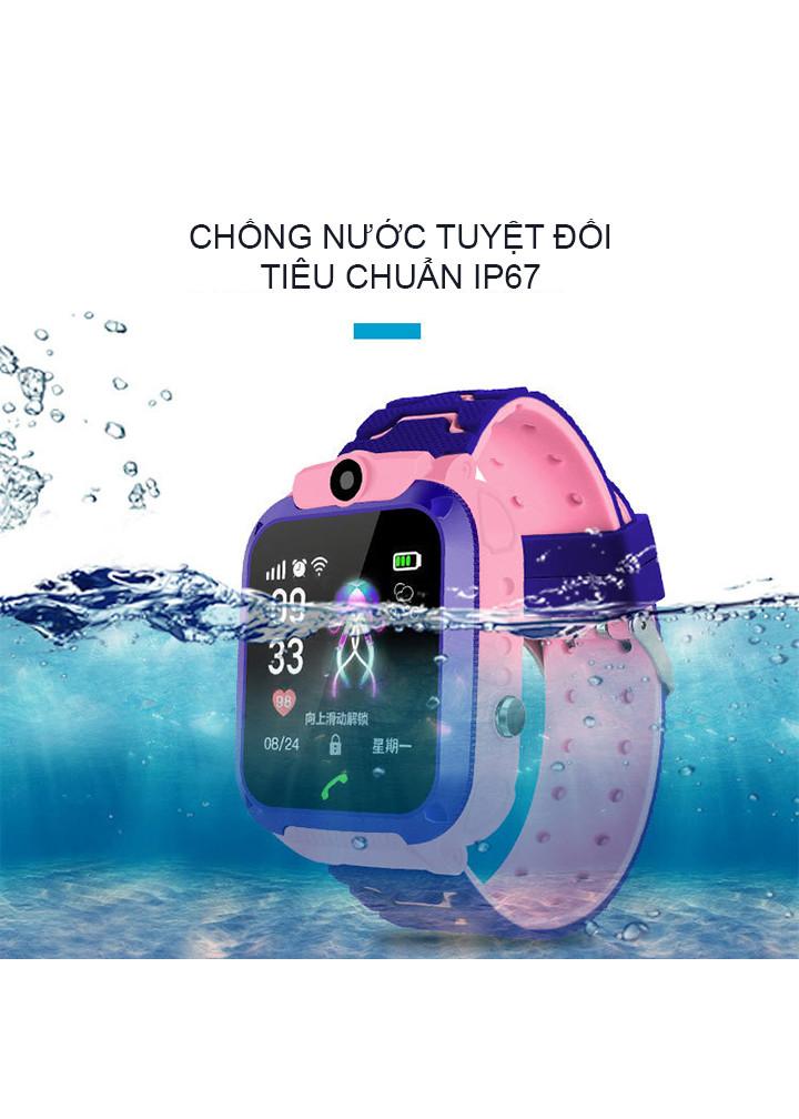 Đồng hồ định vị trẻ em chống nước IP67 new