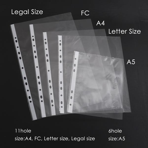 Sơ mi lỗ A4 0.12mm Foska EH303A4-120