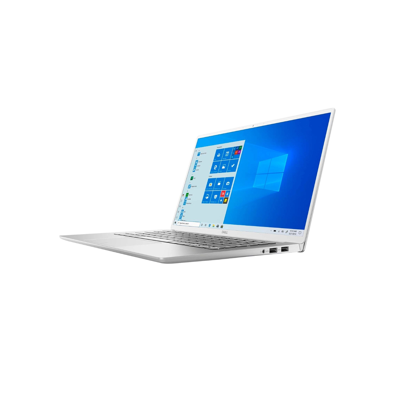 Laptop Dell Inspiron 7490 Core i7-10510U / 8GB / 512GB / Full HD / Win 10 / Silver - Hàng Nhập Khẩu Mỹ