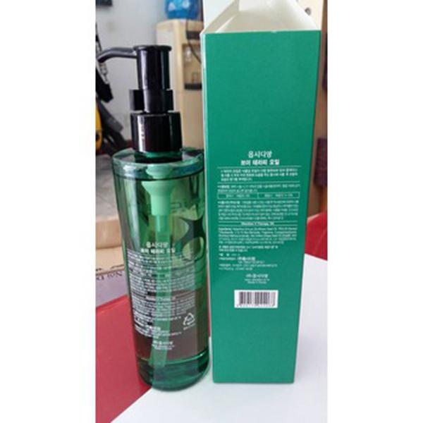 Tinh dầu phục hồi tóc hư tổn Obsidian Professional V - Therapy- Oil Hàn Quốc 240ml tặng kèm móc khoá