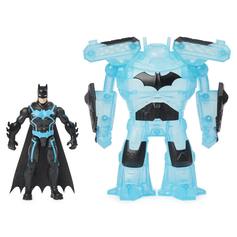 Đồ Chơi Mô Hình BATMAN Người Dơi Batman 4 Inch Và Giáp Robot 6060779