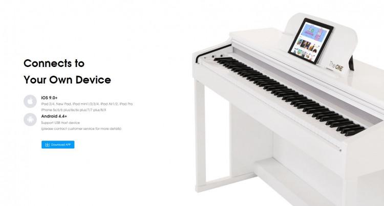 Đàn piano thông minh The ONE Smart Piano