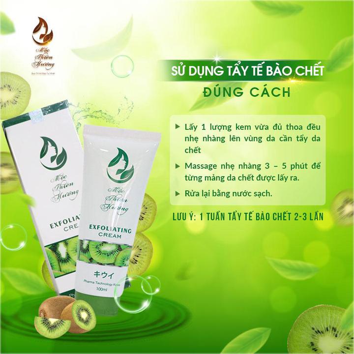 Kem Tẩy Tế Bào Chết, tẩy da chết Dành Cho Da Mặt Exfoliating Cream - Mộc Thiên Hương