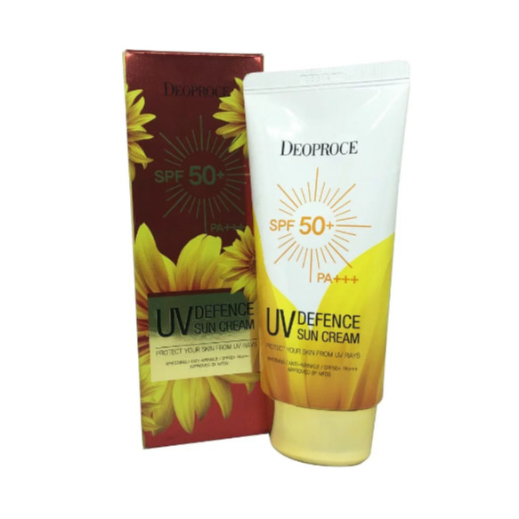 KEM CHỐNG NẮNG DEOPROCE UV DEFENCE SUN CREAM